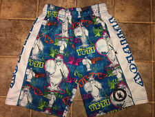Flow Society Authentic Lacrosse Gear Yeti Shorts Boys size Small (8-10) Mint