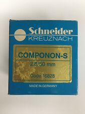 Scheider Kreuznach Componon S 50mm f/2.8 Enlarging Lens Code 16828