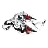 Air Cleaner Kit Spike Filter CV For Harley Carburetor Delphi Chrome V-Twin K&N