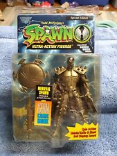 1996 McFarlane Special Edition Ultra Action Medieval Spawn With Comic Book