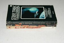 3 Star Trek Books-Puzzle Manual, Quiz Book, All Our Yesterdays Photo Novel