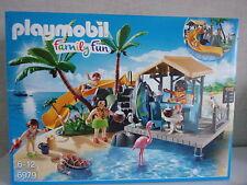 Playmobil Family Fun 6979 Isla del caribe con Bar de playa - nuevo y emb. orig.
