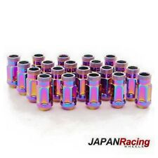Lug Nuts Japan Racing 12x1.5 Acciaio NEO CHROME (Steel Nuts)