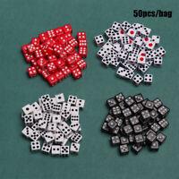 /Rot Tool für Unterhaltung Spiel mit Brettspielen Gaming Trinkdice Würfel