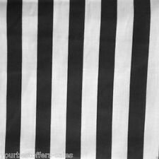 Black And White Striped Fabric Poly Cotton Fabric Sewing Fabric By The Yard New