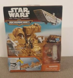 Star Wars MicroMachines First Order Stormtrooper Playset by Disney & Hasbro 2015