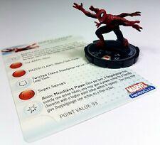 "WIZKIDS®Marvel HeroClix #062 DOPPELGANGER™ Spider-Man ""Silver"" SUPER RARE"