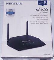 NETGEAR AC1600 R6260 1600Mbps Smart WiFi Router Dual Band Gigabit