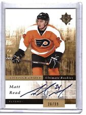 Matt Read 2011-12 Ultimate Collection Auto Rookie Card #140 /99