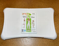 Wii Workout Bundle - Nintendo Wii Fit Plus with Balance Board Tested Works