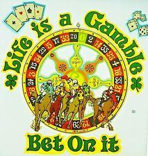 Original Life Is A Gamble Bet On It Iron On Transfer Las Vegas Gambling Horses