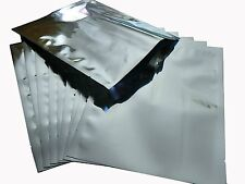 10X Mylar Foil Bags 50cm x 75cm 20 inch x 30 inch 5 Gallon Hold 20kg Extra Large