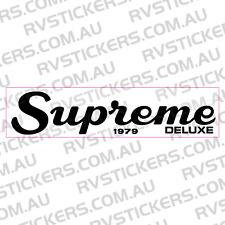 VISCOUNT SUPREME DOOR LOGO Caravan decal, sticker, vintage, graphics
