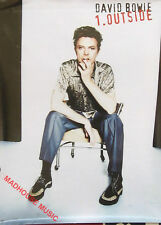 DAVID BOWIE Poster Outside USA PROMO ONLY In-Store Rare stunning!