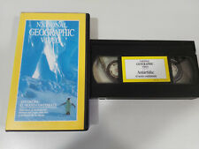 ANTARTIDA El Sexto Continente - VHS TAPE Cinta National GEOGRAPHIC VIDEO