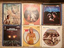 Vtg Lot Blue Thunder 10 Saturday Night Fever Starman Emerald Forest Laserdisc