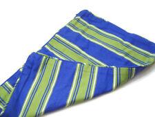 Eddie Bauer Blue Green White Stripes Lumbar Sofa Pillow Cover New