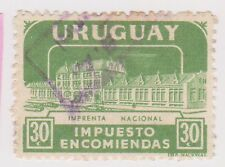 (UGA-177) 1960 Uruguay 30c green Parcel post (B)