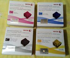 4x4=16 Solid Ink Xerox 8570/8580 ColorQube Set Cyan Magenta Yellow Black Neu OVP