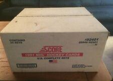 1991 Score Hockey USA Factory Set Sealed Case - 24 Sets