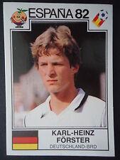 Panini 147 Karl-Heinz Förster Deutschland WM 82 World Cup Story