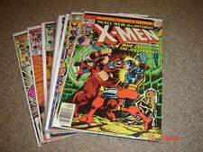 X-MEN LOT OF 9  102-209