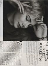 SP8 Clipping-Ritaglio 2012 Michelle Williams Che fatica liberarsi di Marilyn