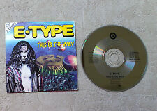 """CD AUDIO MUSIQUE/ E-TYPE """"THIS IS THE WAY"""" 1995 CD SINGLE 2T POLYDOR CARDSLEEVE"""