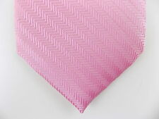"SUSAN G.KOMEN $75 MEN Pink Striped Skinny WIDTH 3"" DRESS SHIRT NECK TIE SALE B15"