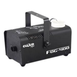 DL 400w Smoke Machine with Wired Remote for Home Party Disco DJ