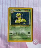 Pokemon Card - Jungle 14/64 - VICTREEBEL (holo-foil) **ERROR No Symbol** - LP