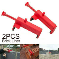 2Pcs Brick Liner Runner Wire Drawer Bricklaying Tool Fixer Building Construction