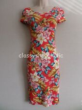 New Look Floral Print Fitted Jersey Dress  - Size 8 - BNWOT