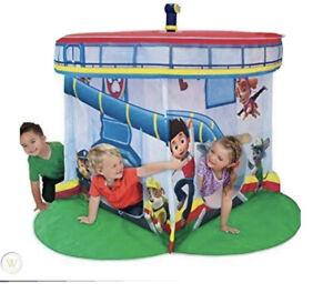 Rare NIB Paw Patrol Rescue Center Playhouse Tent By Playhut