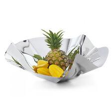 Philippi Germany Margarethe Bowl Hand Folded Unique Stainless Steel Fruit Bowl