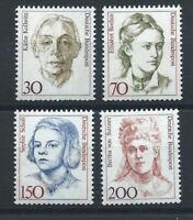Allemagne RFA N°1320/21 et 1329/30** (MNH) 1991 - Femmes de l'histoire Allemande