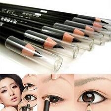 2Pcs Salon Pro Black EyeLiner Cosmetic Makeup Waterproof Smooth Eyeliner Pencil