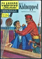 Classics Illustrated, Kidnapped #46, $0.15 - HRN 131 - FN
