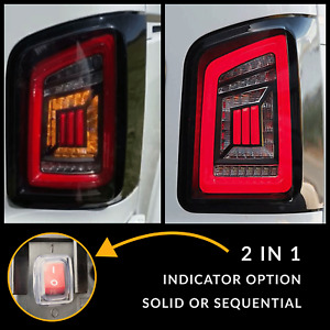 for VW T5.1 Transporter Van Sequential Indicator Barndoor LED Rear Lights Clear