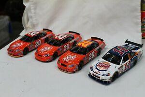 Tony Stewart Home Depot 1/24 NASCAR Diecast 2009 Burger King w/Extras (4)