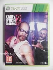 jeu KANE & and LYNCH 2 DOG DAYS sur xbox 360 en francais game spiel juego TBE