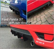 ford fiesta mk6 st diffuser fins/zetec s fiesta st diffuser fins/bumper fins/st