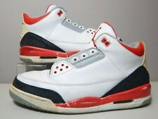 Nike Shoes - 2006 Jordan 3 III Fire Red - Black White Grey Cement Bred - Size 13