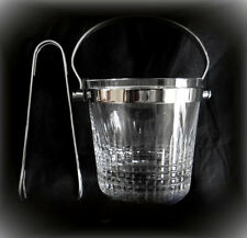 Baccarat French crystal olive holder with tongs - FREE SHIPPING