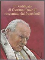 ALBUM IL PONTIFICATO DI GIOVANNI PAOLO II RACCONTATO DAI FRANCOBOLLI vuoto