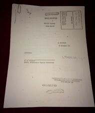 UFO Area 51 Document Lot Estate Sale Find 1951 Roswell Classified Alien CIA U2