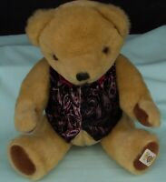 Nisbet  Medium Bully Teddy Bear  Mohair Toy England