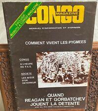 Congo Magazine n°10 - 1985