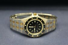 Omega Seamaster 1380 Date Ladies Two Tone Quartz Watch NOT WORKING L4