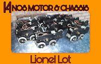 Vintage Nos Lionel Chassis Motor Engine Frame O o72 American flyer LOCOMOTIVE 14